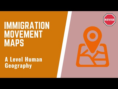 As Human Geography - Immigration Movement Maps