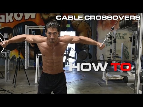 Chest Workout - Cable Crossover