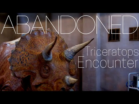 Abandoned - Universal Studios Triceratops Encounter