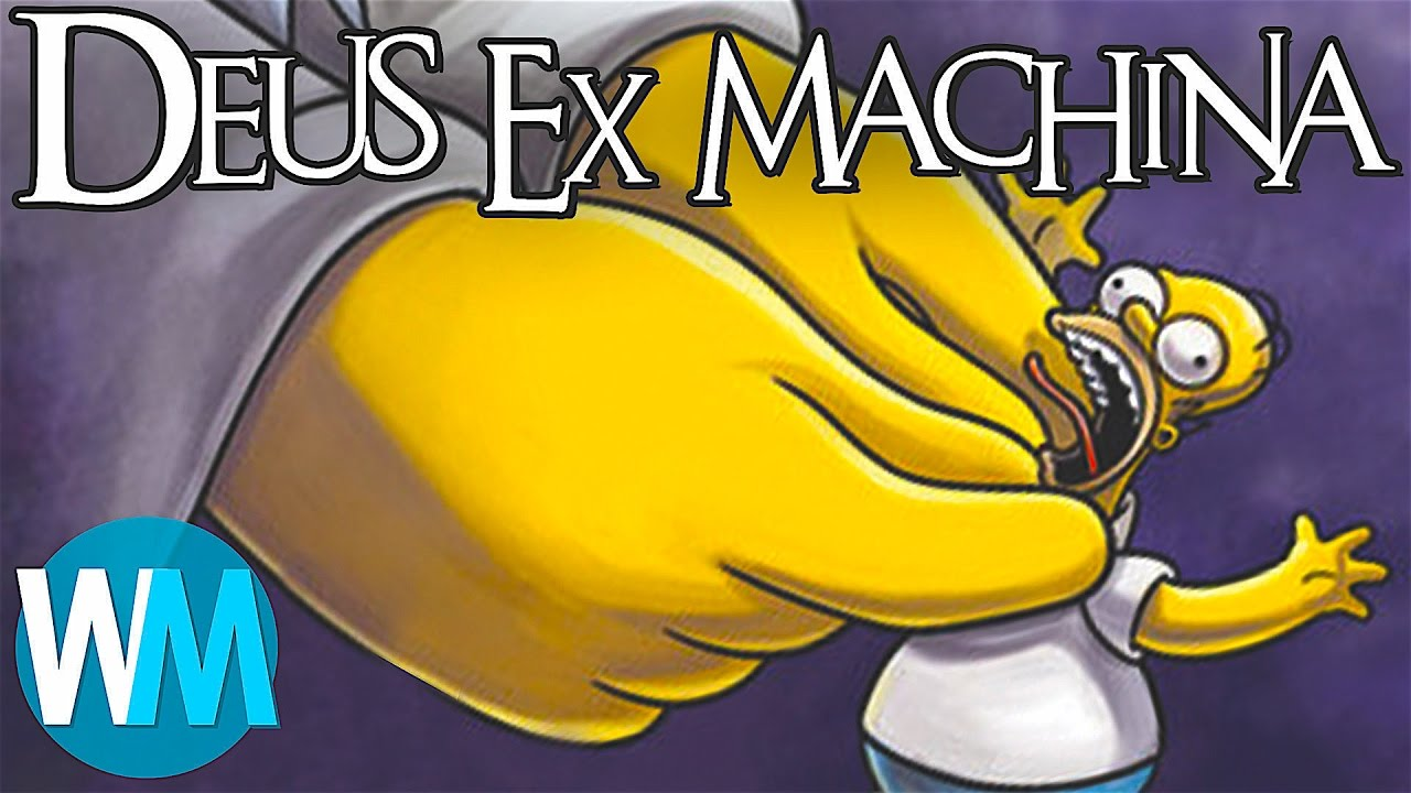 deus ex machina translation