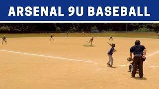 ⚾️ Arsenal vs Wildcats | 9U Baseball Highlights