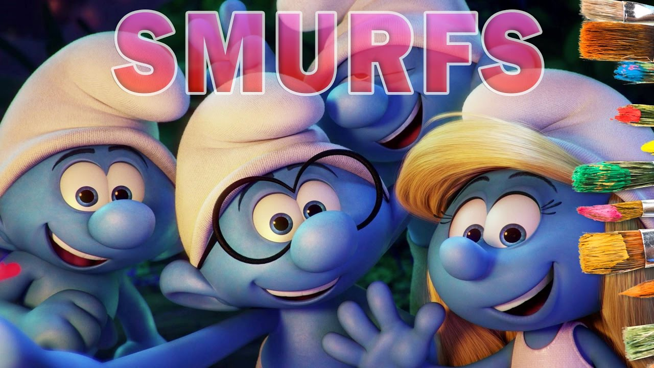 Smurfs The Lost Village Coloring Pages For Kids