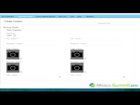 Alfresco Summit 2014: Digital Asset Management For Walmart Canada's Walmart.ca