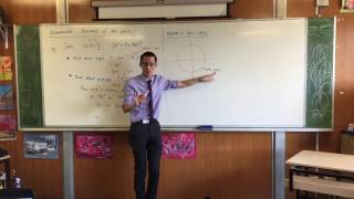 Solving Trigonometric Equations (3 of 5: Using the unit circle)