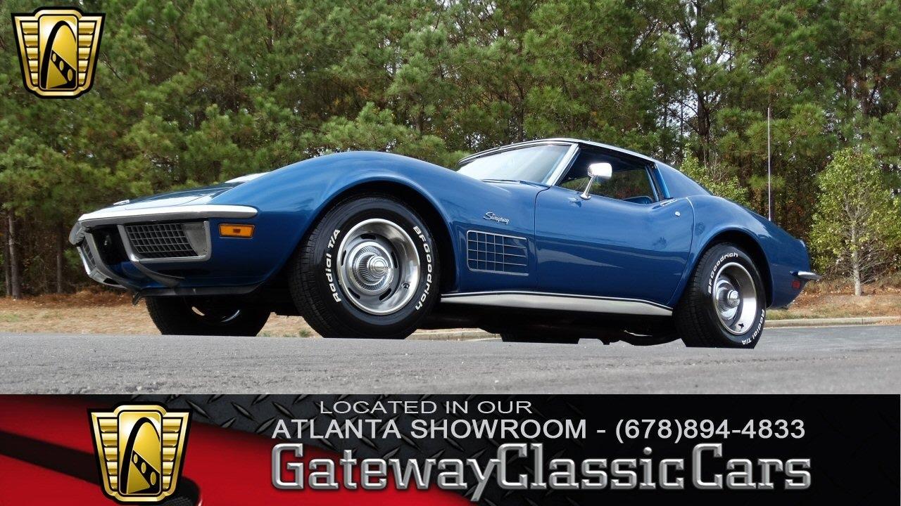 Corvette 1970 chevrolet corvette stingray : 1970 Chevrolet Corvette - Gateway Classic Cars of Atlanta #96 ...
