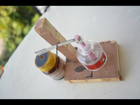 How to make Non Electric mosquito killer machine - at home - easy way
