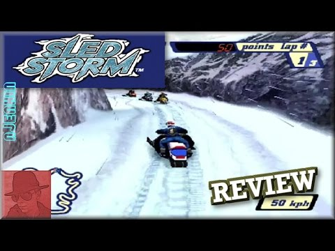 Sled Storm - PS1 - with Commentary !!