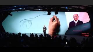 Alfa Giulia 2015 - Presentazione Museo di Arese - ANDREA BOCELLI