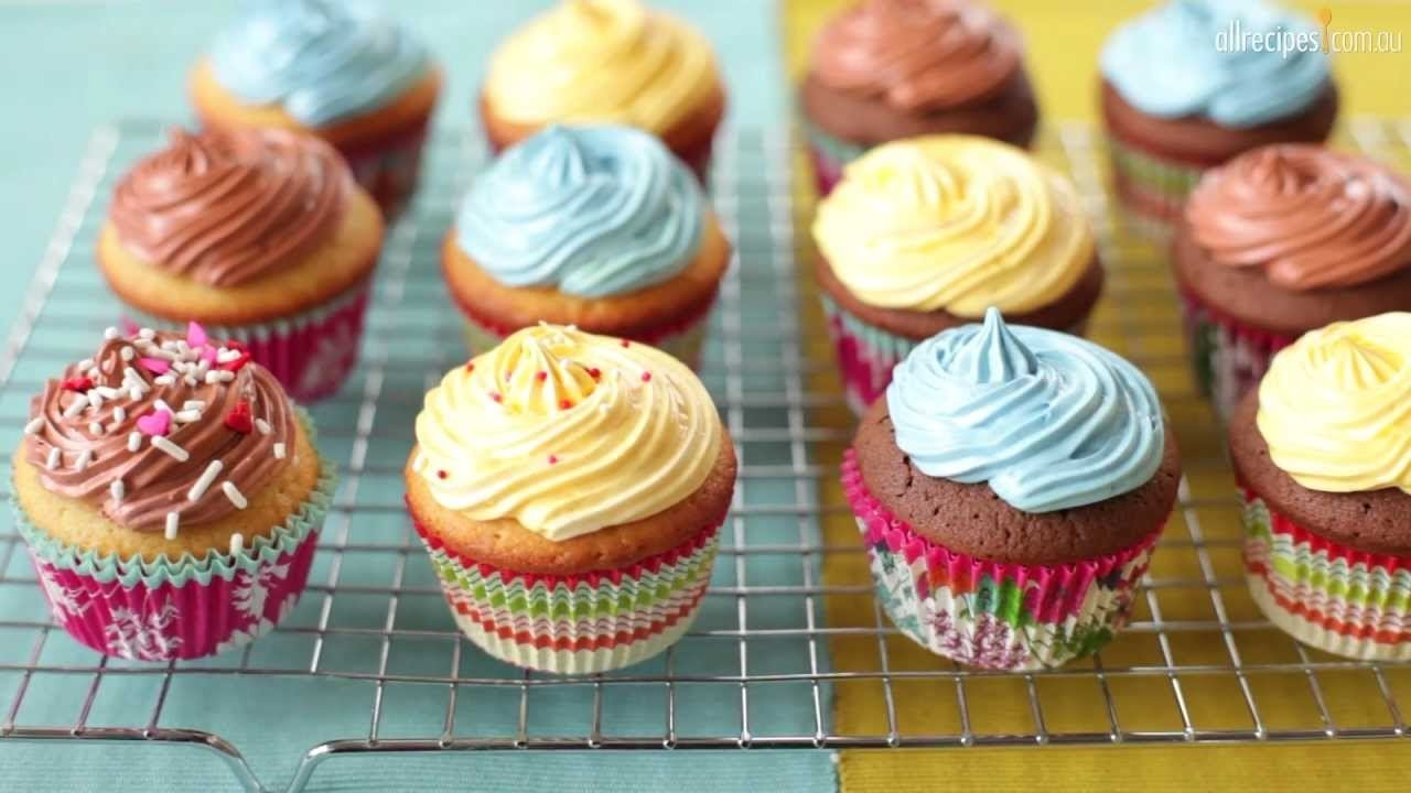 How To Make Cupcakes Step By Step  How To Make Basic Cupcakes
