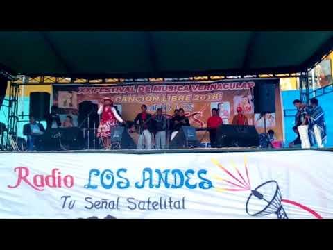 Alma solary.. ganadora, de Radio los Andes , 2018. Con, 10 añitos de edad,. un verdadero talento..