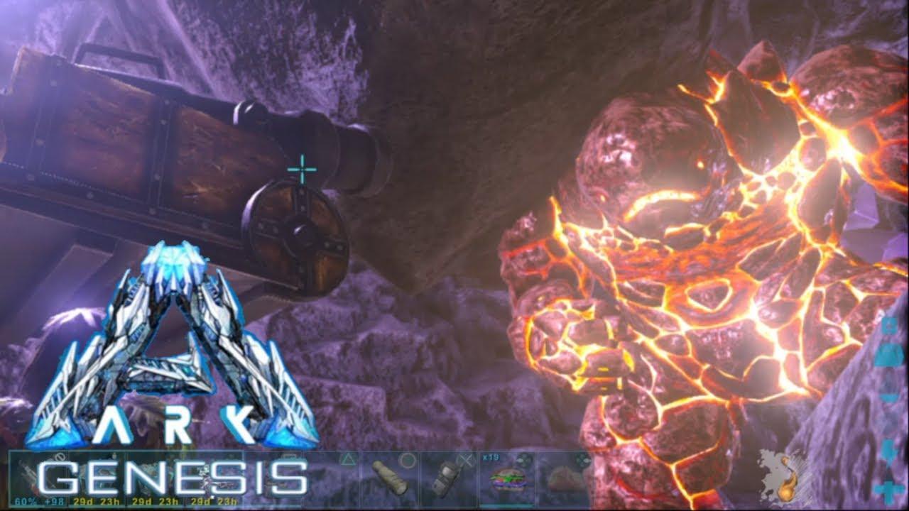 【ゆっくり実況】ロックエレメンタル テイムへの道!中編 ARK Suvival evolved マップ  Genesis #41