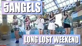 5Angels - Long lost weekend - TV NOVA 2015