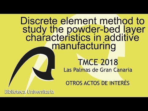 Discrete element method to study the powder-bed layer characteristics in additive manufacturing