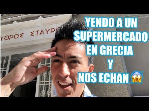 NOS ECHAN DEL SUPERMERCADO EN GRECIA + COMPRAS EN H&M