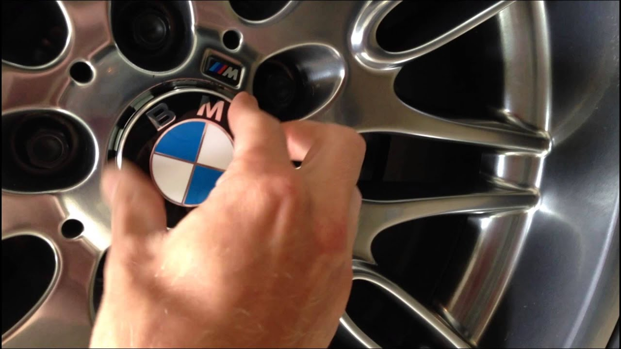BMW Wheel Center Cap Replacement YouTube - Bmw decals for wheels