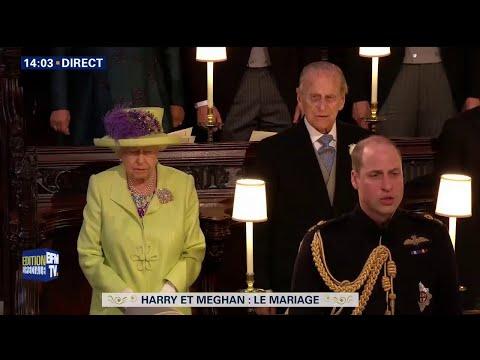"""""""God save the Queen"""" entonné au mariage du prince Harry et Meghan Markle"""