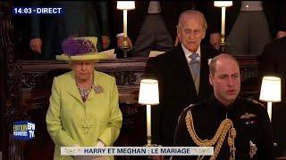 Le prince Harry a épousé ce samedi l'Américaine Meghan Markle à Win...
