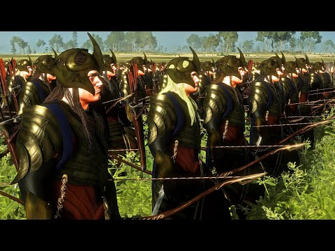 Lothlorien Elves Vs Uruk-Hai of Isengard | 12,000 Unit Cinematic Battle | Total War Rise of Mordor |