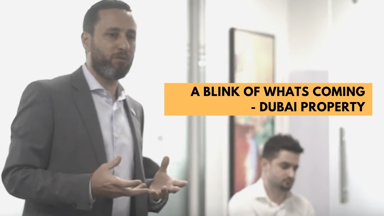 A blink of whats coming – Dubai property