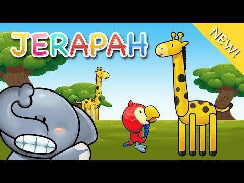 Lagu Anak Indonesia   Jerapah