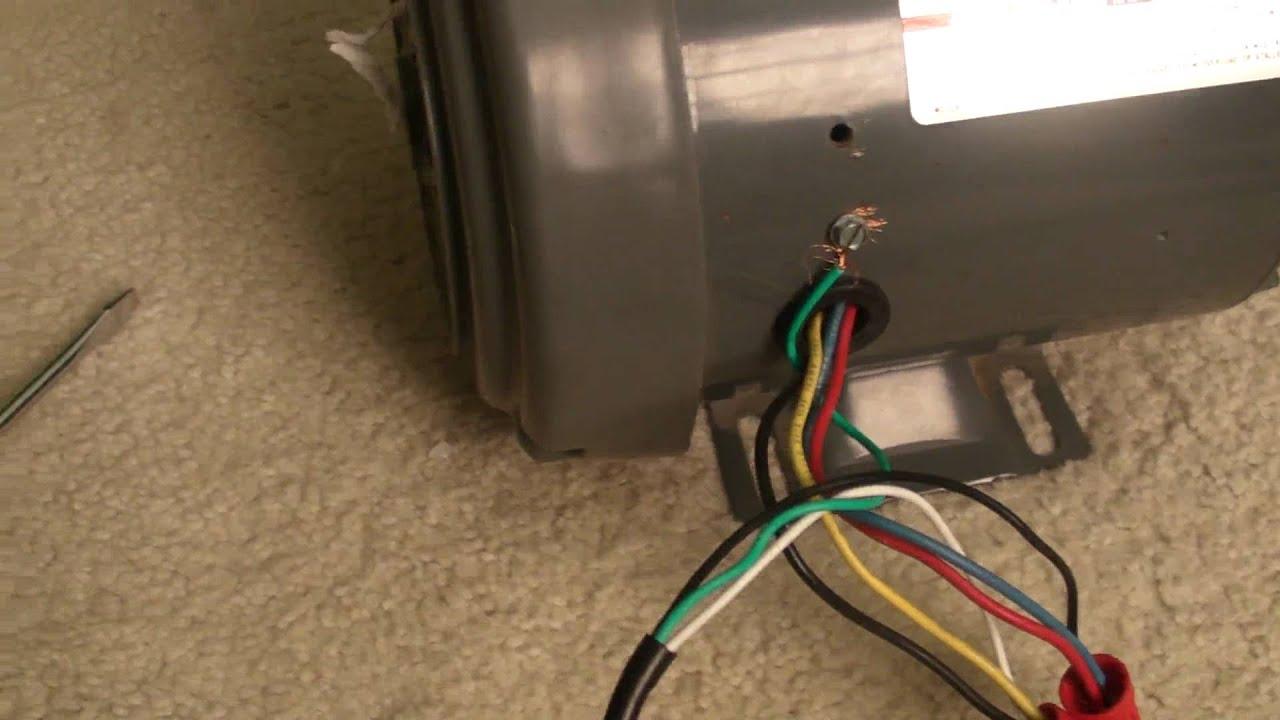 Dayton 1 Hp Electric Motor Wiring Diagram Amp A Good Test Youtube