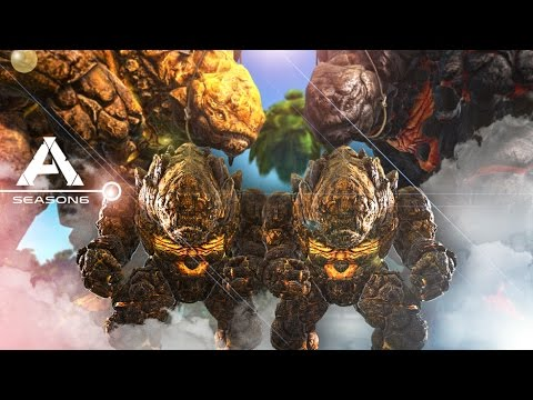 ARK: Survival Evolved - BABY TWIN ROCK ELEMENTALS & LVL 1000+ TAMING #7 - Pugnacia Modded Gameplay