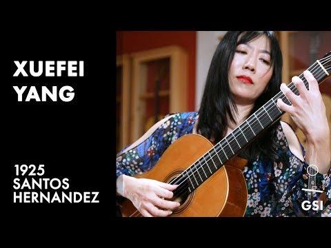 "Xuefei Yang plays ""Eterna Saudade"" by Dilermando Reis on a 1925 Santos Hernandez"