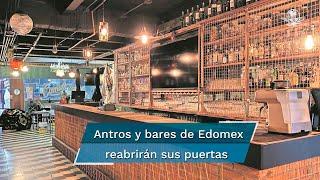 """De acuerdo con la Asociación de Bares y Restaurantes del Estado de México, la reactivación significa """"una luz de esperanza para el sector más afectado por esta pandemia"""""""