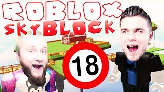 ROBLOX for adults! | ROBLOX: Skyblock 2 [#1/4] (With: Diabeuu) #Bladii #PL