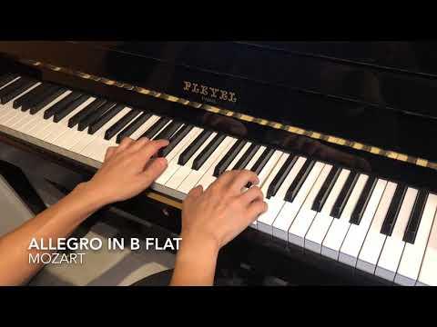 71st 2019 HK Music Festival Class 104 Piano Solo Grade 2 Mozart: Allegro in Bb