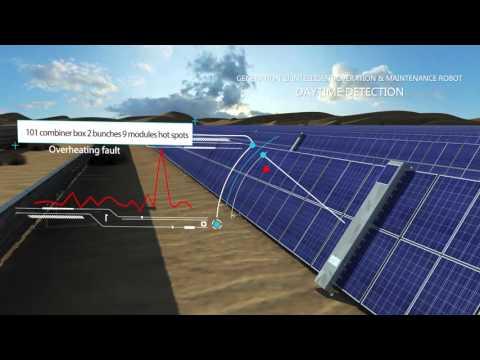Sol-Bright Tech Solar Panel Intelligent Cleaning Robot version three