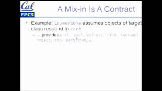 3.7. Mixins and Duck Typing