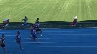 Командный чемпионат России-2018. 100 метров, мужчины