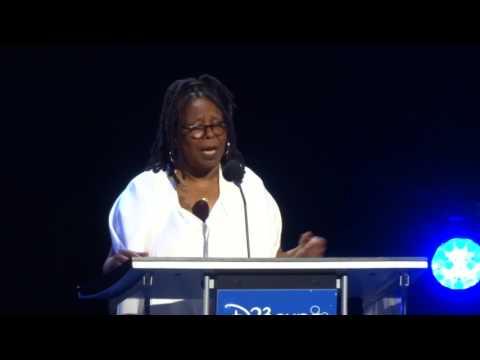 Whoopi Goldberg Disney Legends ceremony acceptance speech at D23 Expo 2017
