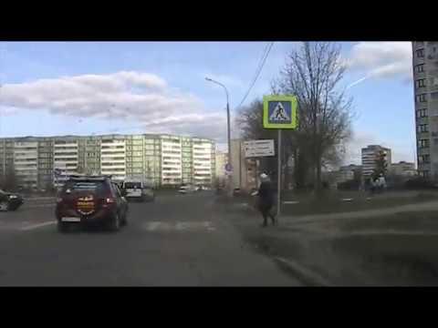 """г.Обнинск. Видео для """"организаторов дорожного движения"""""""