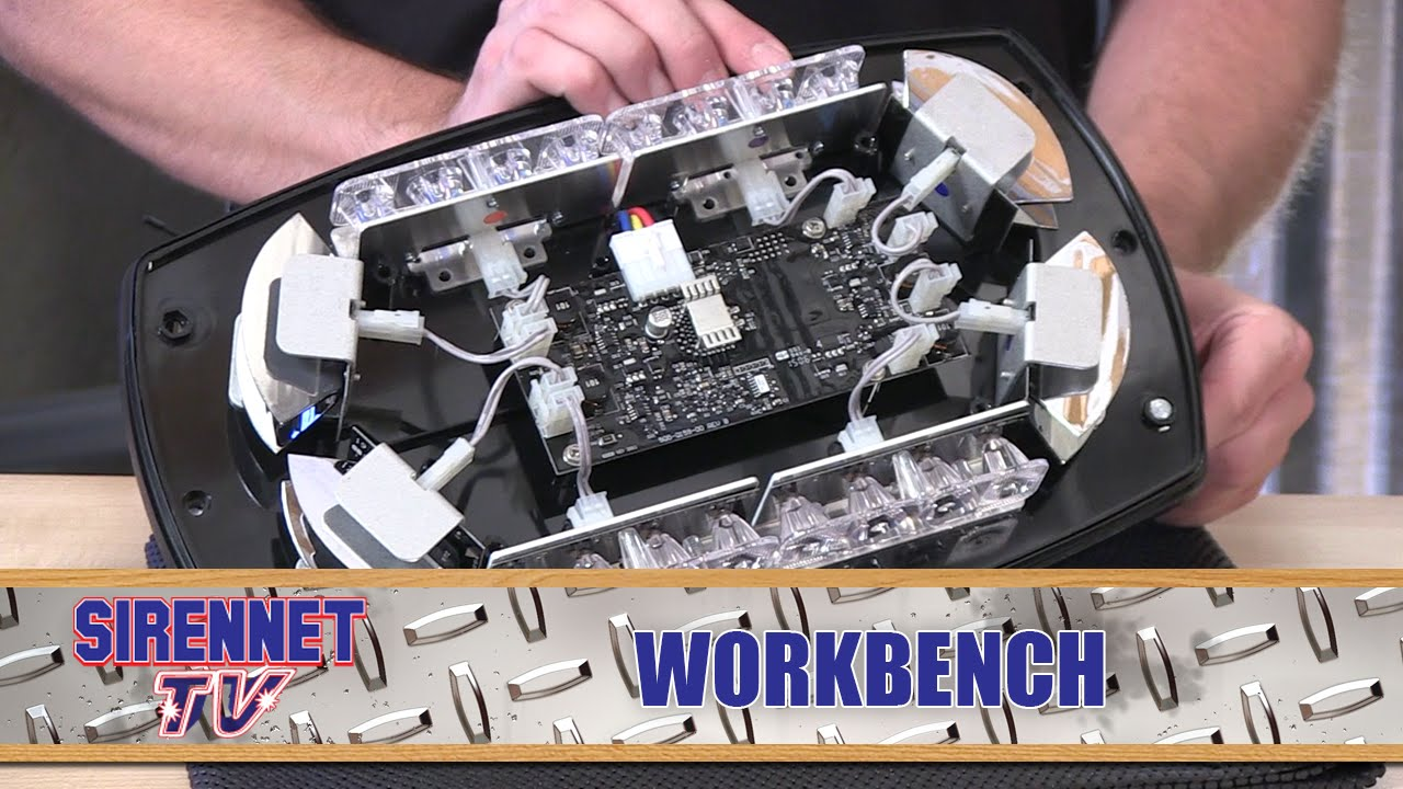chris takes apart the code 3 reflex mini lightbar