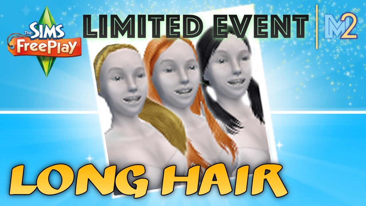 Sims freeplay long hair event review amp walkthrough youtube