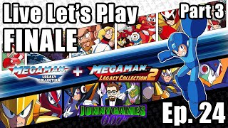 Live Let's Play Mega Man Legacy Collections Episode 24 FINALE (Part 3)