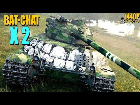 2x B-C 25 t - World of Tanks
