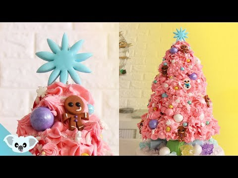 CHRISTMAS TREE CAKE! | Amazing Holiday Ideas | Koalipops