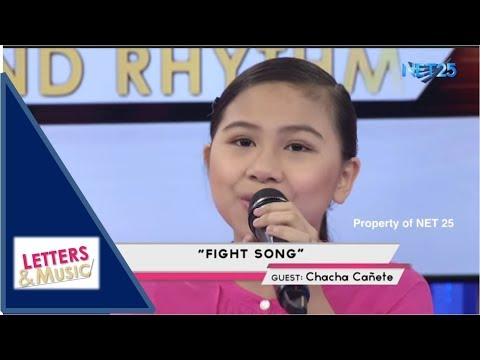 CHA CHA CAÑETE - FIGHT SONG (NET25 LETTERS AND MUSIC)