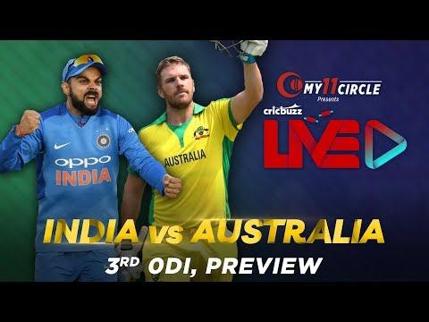 India V Australia, 3rd ODI: Preview
