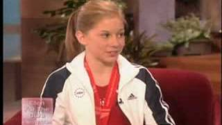 Download Shawn Johnson on Ellen, October '07 Mp3 and Videos