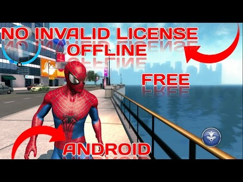 🔴(ANDROID) HOW TO DOWNLOAD THE AMAZING SPIDERMAN 2 OFFLINE WITHOUT INVALID LICENSE PROBLEM APK+OBB