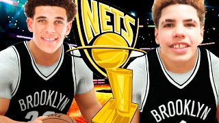 Could The Ball Brothers Take The Brooklyn Nets To A NBA Championship? NBA 2K17 Challenge
