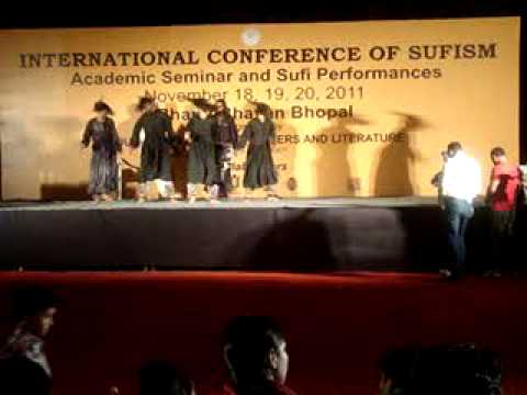 Malang group from Pakistan at Sufi conference, Bhopal 2011, Part 2.MPG