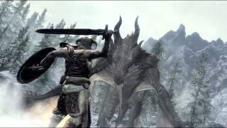 The Elder Scrolls V: Skyrim Dragons Official Trailer (PC, PS3, Xbox 360)
