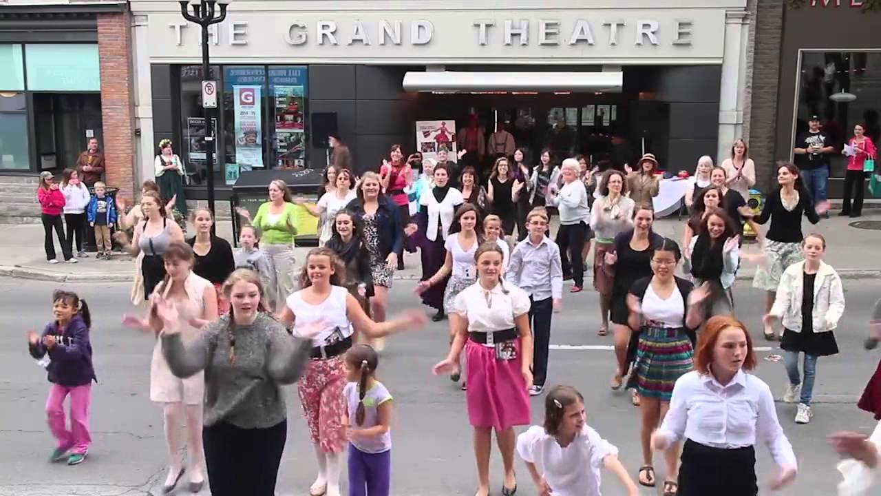 Sound Of Music Flash Mob Youtube