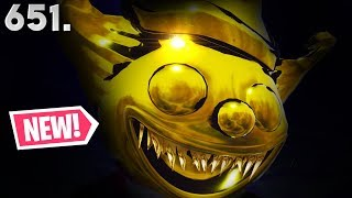 *SCARY!* GOLDEN CLOWN MASK IN FORTNITE.. (Ep.651)