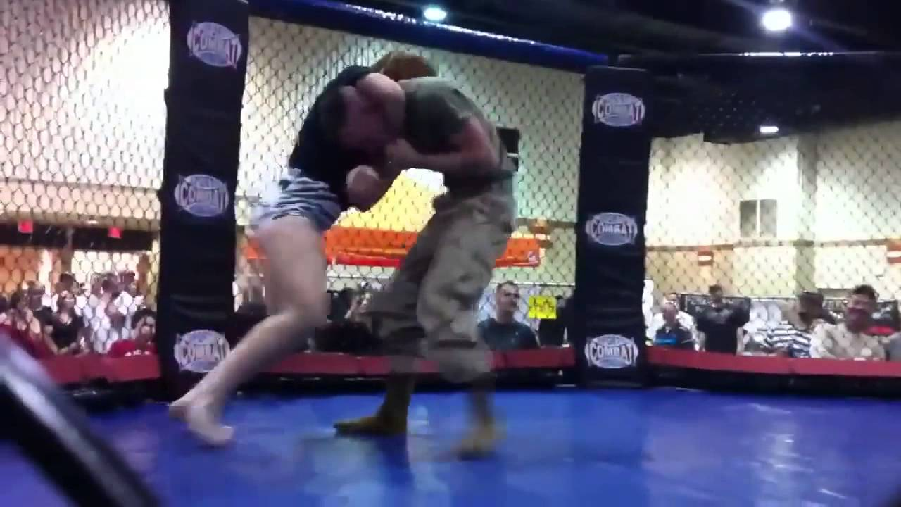 US Marine Taps Out To Jiu Jitsu Girl